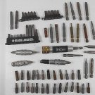 LOT OF 70 MISC TORX DRIVER BITS, NUTSETTERS ATTACHMENTS