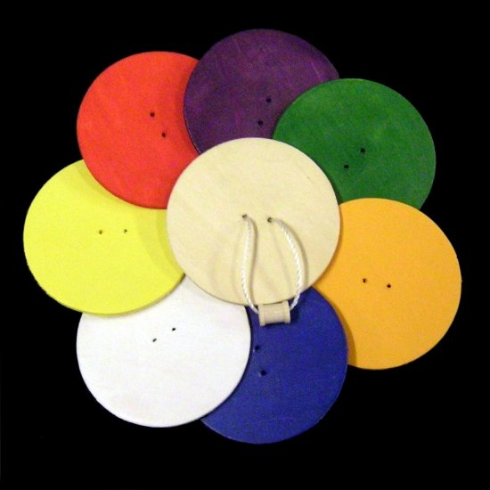 Spin Toy - Circle - Natural or Painted