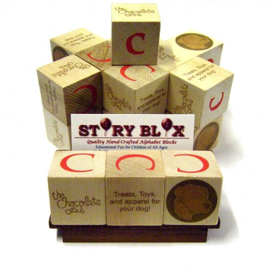 PromoBlox - Custom Promotional Alphabet Blocks for Your Organization