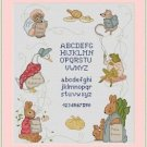 Cross-Stitch Embroidery Color Pattern with DMC codes - Peter Rabbit Sampler