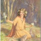 Beautiful Vintage Decor Collectible Kitchen Fridge Magnet - Woodland Fairies