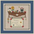 Cross-Stitch Embroidery Color Pattern DMC thread codes- Home Sweet Home