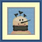 Cross-Stitch Embroidery Color Pattern with DMC codes - Welcome Winter Friends