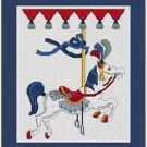 Cross-Stitch Embroidery Color Pattern with DMC codes - Beautiful Carusel