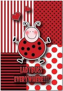 Beautiful Decor Design Collectible Kitchen Fridge Magnet - Ladybug's Everywhere