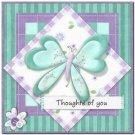 Beautiful Decor Design Collectible Kitchen Fridge Magnet - Pretty Butterfly