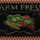 Beautiful Decor Design Collectible Kitchen Fridge Magnet - Prim Country Life #23
