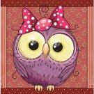 Beautiful Decor Design Collectible Kitchen Fridge Magnet - Cute Little Owl