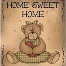 Beautiful Decor Design Collectible Kitchen Fridge Magnet - Prim Teddy Bear