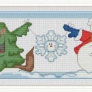 Cross-Stitch Embroidery Color Pattern with DMC codes - Best Winter Friends