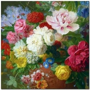 Beautiful Collectible Flower Kitchen Fridge Refrigerator Magnet - Still Life #11