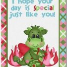 Cute Decor Collectible Kitchen Fridge Refrigerator Magnet - XOXO Love Dragon #4