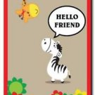 Beautiful Cute Decor Collectible Kitchen Fridge Magnet - Giraffe Friends