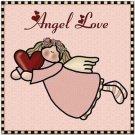 Cute Valentine's Collectible Kitchen Fridge Refrigerator Magnet - Angel Love
