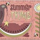 Primitive Country Folk Art Kitchen Refrigerator Magnet -Summer Thyme