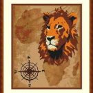 Cross-Stitch Embroidery Color Pattern with DMC thread codes - Wild Africa