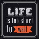 Beautiful Decor Collectible Kitchen Fridge Magnet - Awesome Life Quotes #36