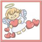 Beautiful Cute Decor Design Collectible Kitchen Fridge Magnet - Love Angel