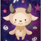 Cute Beautiful Astrology Zodiac Sign Decor Collectible Fridge Magnet - Capricorn