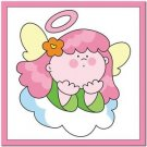 Beautiful Cute Decor Design Collectible Kitchen Fridge Magnet -Angel on Cloud