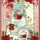 Primitive Country Folk Art Kitchen Refrigerator Magnet - Vintage Shabby Chic #7