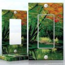Wall Plate DECORA Light Switch Cover Vinyl Sticker Decal -  Peaceful Lake