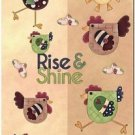 Beautiful Decor Design Collectible Kitchen Fridge Magnet - Colorful Hens