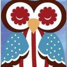Beautiful Decor Design Collectible Kitchen Fridge Magnet - Sleeping Owl