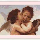 Cross-Stitch Embroidery Color Digital Pattern with DMC codes - Little Angels