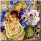 Beautiful Collectible Flower Kitchen Fridge Refrigerator Magnet - Still Life #12