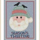 Cross-Stitch Embroidery Color Pattern with DMC thread code - Season Tweeting