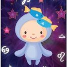 Cute Beautiful Astrology Zodiac Sign Decor Collectible Fridge Magnet - Pisces