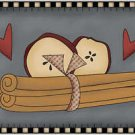 Primitive Country Kitchen Collectible Refrigerator Magnet - Prim At Heart #2