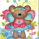 Beautiful Cute Decor Design Collectible Kitchen Fridge Magnet - Fairy Bear