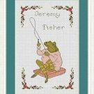 Cross-Stitch Embroidery Color Pattern with DMC codes-The Tale of Peter Rabbit #5