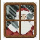 Cross-Stitch Embroidery Color Pattern DMC thread codes- Christmas Night