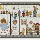 Cross-Stitch Embroidery Color Pattern DMC thread codes- My Home