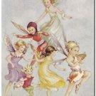 Beautiful Vintage Decor Collectible Kitchen Fridge Magnet - The Elfin Piper
