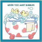 Beautiful Cute Decor Collectible Kitchen Fridge Magnet - Bubblebath Quotes #2