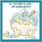 Beautiful Cute Decor Collectible Kitchen Fridge Magnet - Bubblebath Quotes #4