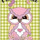 Beautiful Fun Decor Design Collectible Kitchen Fridge Magnet - Cute Funny Owl #2