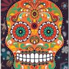 Decor Collectible Kitchen Fridge Magnet - Flower Sugar Skull #2