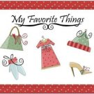Primitive Country Folk Art Kitchen Refrigerator Magnet - My Favorite Things