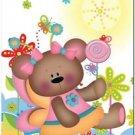 Beautiful Cute Decor Design Collectible Kitchen Fridge Magnet - Fairy Bear #4