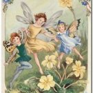 Beautiful Fun Decor Design Collectible Kitchen Fridge Magnet - Dance of Spring