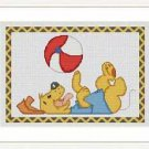 Cross-Stitch Embroidery Color Pattern with DMC codes - Happy Puppy #4
