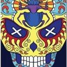 Decor Collectible Kitchen Fridge Magnet - Flower Sugar Skull #12
