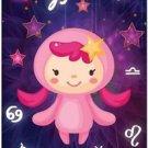 Cute Beautiful Astrology Zodiac Sign Decor Collectible Fridge Magnet - Virgo