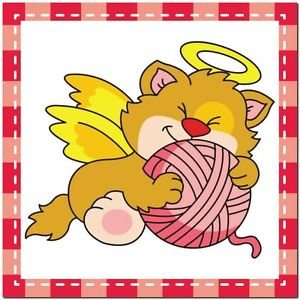 Beautiful Cute Decor Collectible Kitchen Fridge Magnet - Sleeping Angel Cat