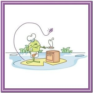 Beautiful Cute Decor Collectible Kitchen Fridge Magnet ~ Life of Frog Family #5